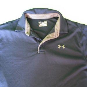 Under Armour Heat Gear Polo Shirt, L
